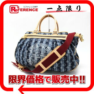"》 fs3gm for 《 for Louis Vuitton 2,007 years as well as Cruise line monogram denim ""カバレイエ GM"" 2WAY handbag blue M95336 new article"