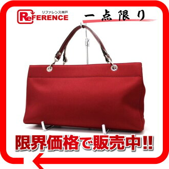 "Burberry Blue label tote bag red beauty products ""enabled."" fs3gm"