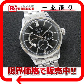 """Seiko mechanical mens watch power reserve day-date 29 stone automatic self-winding 6R21-00A0 """"response.""""-fs3gm"""
