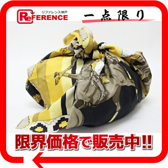 "HERMES Hermes PTI ash ""furoshiki"" bag yellow series brand new as well as used"