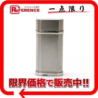 Cartier Oval gas cigarette lighter steal finish silver CA120116 》 fs3gm for 《