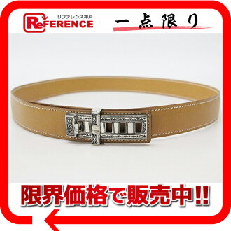 "Hermes Tuareg belt 75 Vash natural E time ""response.""-fs3gm"