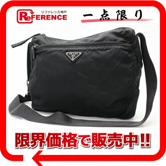 "Prada nylon shoulder bag black ""response.""-fs3gm"