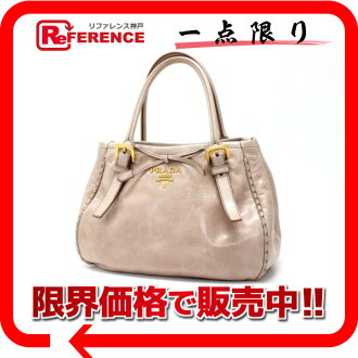 "Prada VITELLO SHINE (ヴィテロシャイン) Ribbon 2-WAY handbag simply BN1867? s support.""fs3gm"