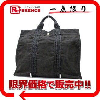 "Hermes airline Tote MM grey ""response.""-fs3gm02P05Apr14M"