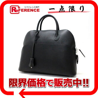 "Hermes bread 1923 handbag ヴォースイフト black silver fittings I ever-changing beauty products ""enabled."""