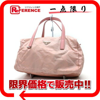 PRADA nylon handbag pink 》 fs3gm for 《