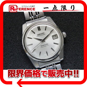 "Seiko Grand Seiko chronometer diamond shock 35 stone men's watch model second hand winding antique lion medal 5722-9990 s correspondence.""fs3gm"