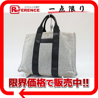 Fs3gm Hermes サックアーネ PM tote bag grey? s support.""