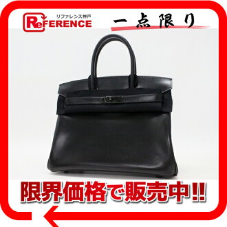 "Hermès's handbag So Black (black Thor) like Birkin 30 Bock scarves N ever-new ""response.""-fs3gm"