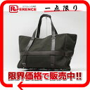 HERMES large tote bag canvas X leather khaki X dark brown N 刻 》 fs2gm fs2gm for 《