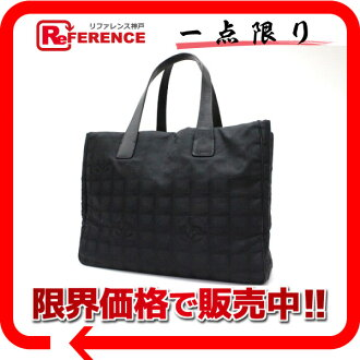 "Chanel Newt label line MM Tote ""response.""-fs3gm"