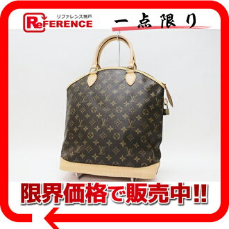 "Louis Vuitton Monogram ""Lockit vertical"" handbag M40103 beauty products ""response.""-fs3gm"