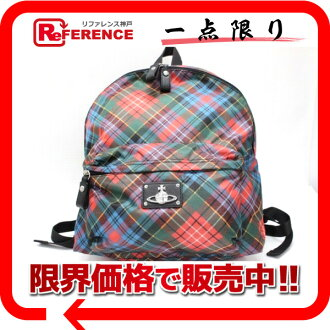 Vivien waist Wood kilt check rucksack red system multi-; unused 》 fs3gm 02P05Apr14M for 《