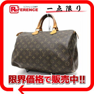 "Louis Vuitton Monogram ""speedy 35"" Boston handbag M41524 ""response.""-fs3gm02P05Apr14M02P02Aug14"