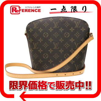 "Louis Vuitton monogram shoulder bag ""ドルーオ"" M51290 》 fs3gm for 《"
