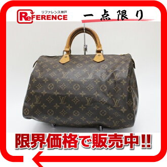 "Louis Vuitton Monogram ""speedy 35"" Boston handbag M41524? s support."""