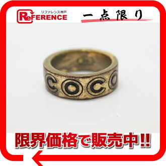 CHANEL COCO ring 13 gold 》 fs3gm for 《