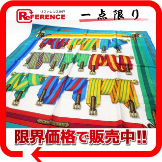 "HERMES silk scarf ""boyfriend"" belt pattern multicolored 》 fs3gm for 《"