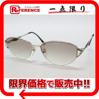 》 fs3gm of Baru man sunglasses light gold X Green line for 《
