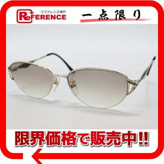 》 fs3gm of Baru man sunglasses light gold X Green line for 《