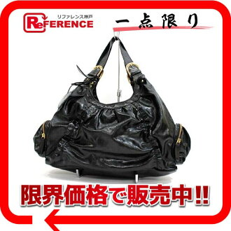 Samantha Vega fake leather frill shoulder bag black 》 fs3gm for 《
