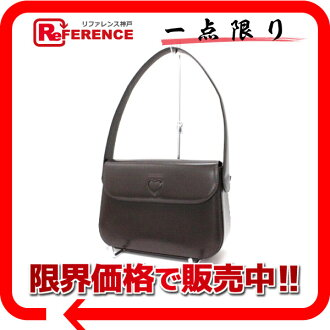 Moschino leather semi-shoulder bag dark brown 》 fs3gm for 《
