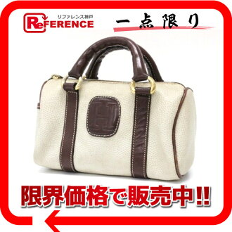 "Glow mini hand bag pouch beige x Brown? s support.""fs3gm"