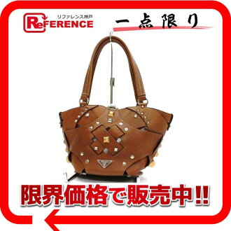 Prada leather handbag Brown of BR2433? s support.""