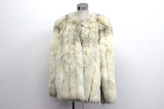 11 saga Fox Lady's coat white system 》 fs3gm 02P05Apr14M for 《