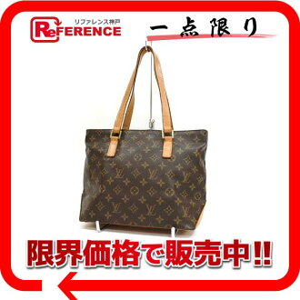 "Louis Vuitton Monogram tote bag ""カバピアノ"" M51148 ""for"" fs3gm"