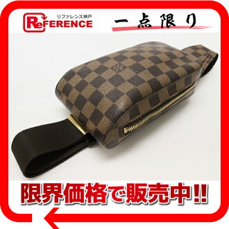 "Louis Vuitton Damier ""Jerónimos"" old body bag N51994? s support.""fs3gm02P05Apr14M"