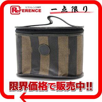 "Fendi Pecan vanity bag black x Brown? s support.""fs3gm"