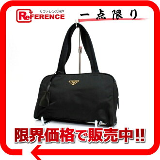 PRADA nylon handbag black 》 fs3gm for 《