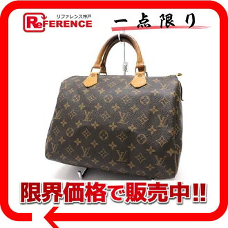 Mini Boston handbag Louis Vuitton Monogram speedy 30 M41526? s support.""