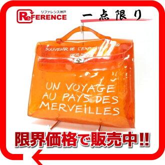 "Hermes ビニールケリー handbags orange ""response."""