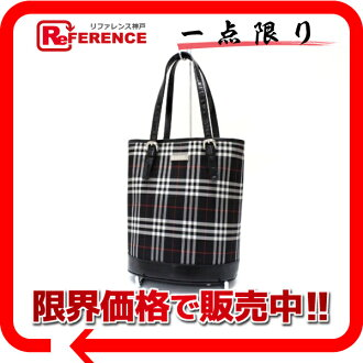 Burberry blue label check bucket type tote bag black system 》 fs3gm for 《
