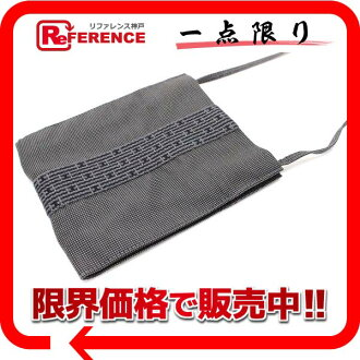 HERMES yell line pochette gray 》 fs3gm for 《