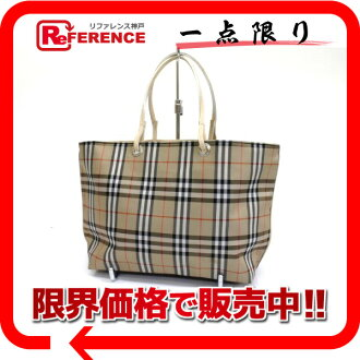 Burberry London classical music check tote bag beige 》 for 《