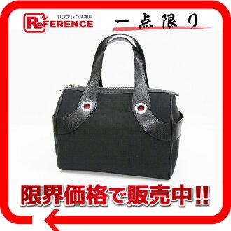 "Bulgari Mania mini Boston handbag black beauty products ""enabled."""