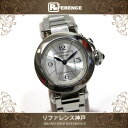 Cartier カルティエ ミス・パシャ レディース 腕時計 SS クォーツ W3140008 KK...