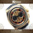 ROGER DUBUIS ロジェデュブイ モネガスク ビッグナンバー クロノグラフ メンズ腕時計 K18ローズゴールド ブラックアリゲーターベルト 自動巻き 未使用 KK 【中古】