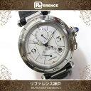 Cartier カルティエ パシャGMT パワーリザーブ メンズ腕時計 SS 自動巻き W3103755 KK 【中古】