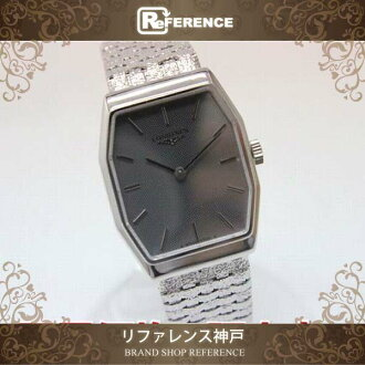 """Longines mens watch K18WG hand roll finish has been good as new """"support."""""""