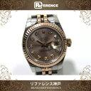 ROLEX ロレックス オイスターパーペチュアル デイトジャスト レディース腕時計 SS/PG 10Pダイヤ 自動巻 179171G G番 KK ロレックス デイトジャスト ロレックス レディース腕時計