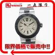 BVLGARI ブルガリ アルミニウム レディース腕時計 ブラックラバー クオーツ AL29TA 【中古】
