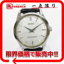 SEIKO セイコー ダイヤショック メンズ腕時計 SS×革ベルト 手巻き 4S24-0070 美品【中古】 KK 0601楽天カード分割