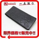 CHANEL シャネル キャビアスキン 携帯ケース ブラック 【中古】 KK 0601楽天カード分割