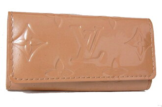 Louis Vuitton Vernis 4 key holder key holder 4 Noisette (Beige) M91358 fs3gm02P05Apr14M