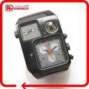 DIESEL ディーゼル DZ-1319 クロノグラフ コンパス 腕時計 SS/革ベルト メンズ【中古】